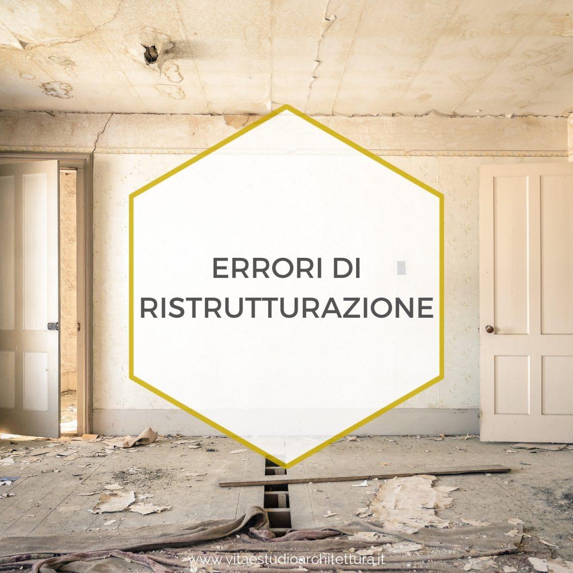 Errori di ristrutturazione