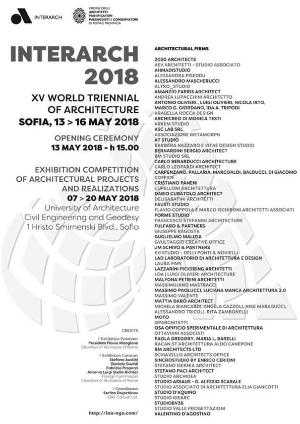 Triennale Sofia 2018
