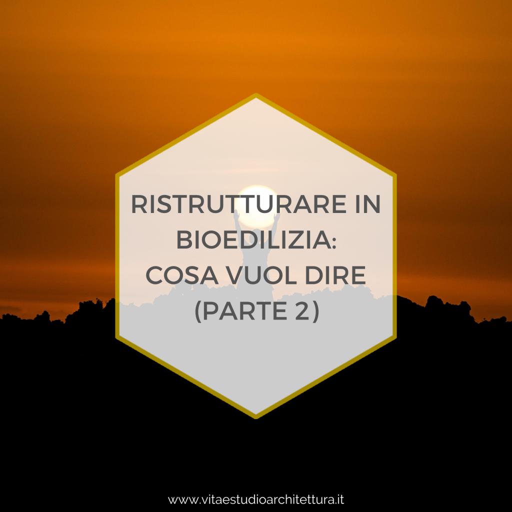 Ristrutturare in bioedilizia 2