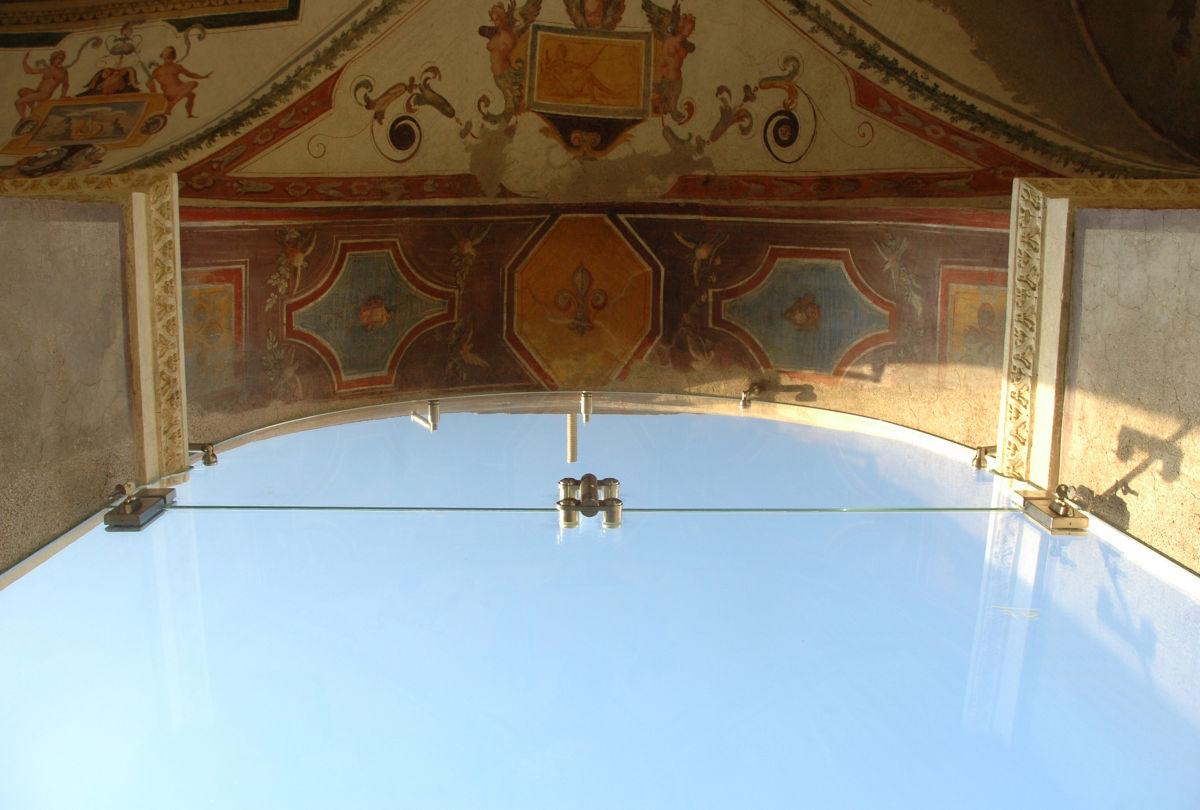 Le logge della Casina Farnese